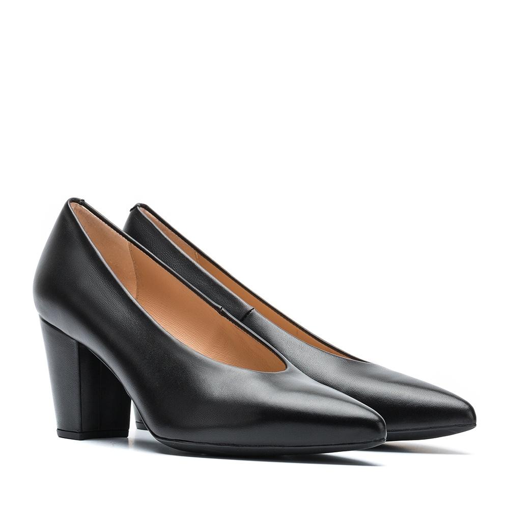 UNISA Escarpin en cuir noir KOKE_NA black 3