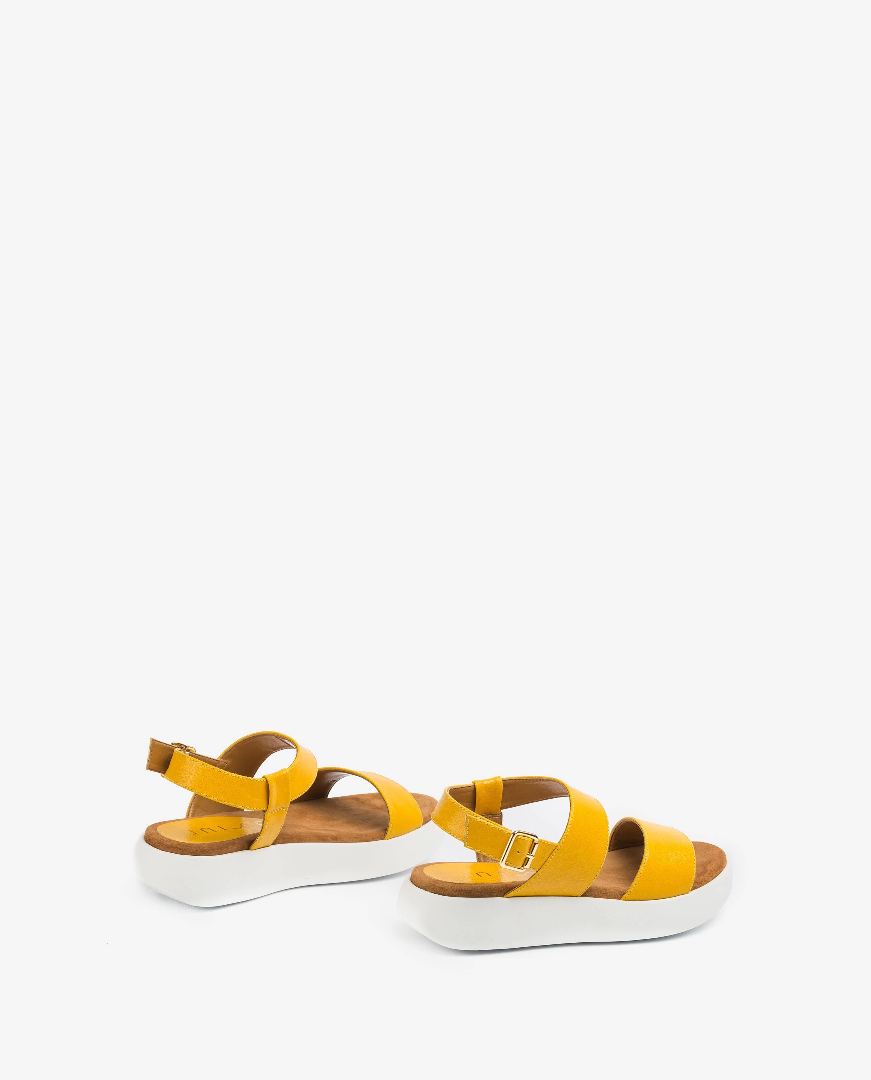UNISA Sandale sport jaune BIMAX_GCR limone 3