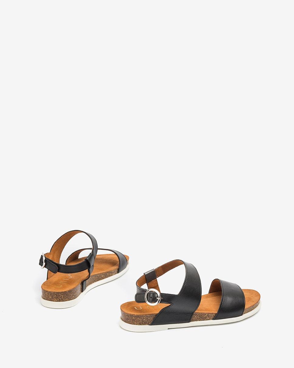 UNISA Sandale bio cuir CANOVAS_NF black 3