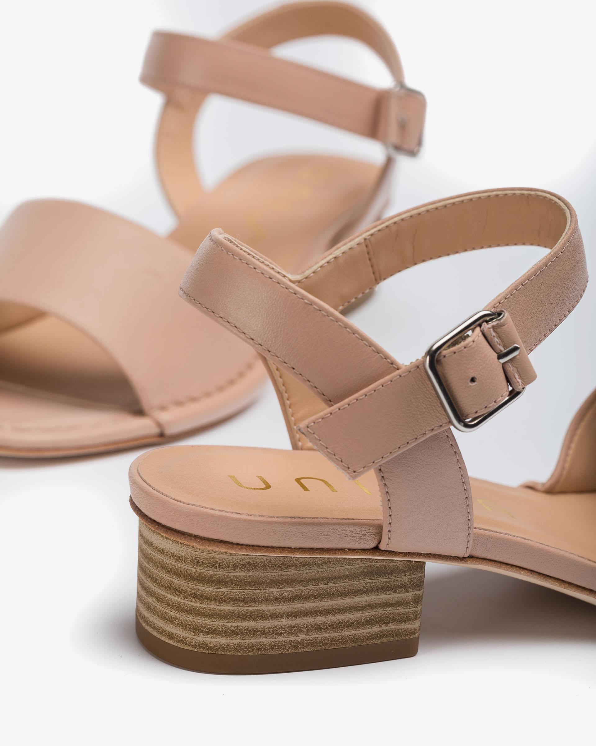 UNISA Sandale type mule en cuir  JUSA_MOA 3