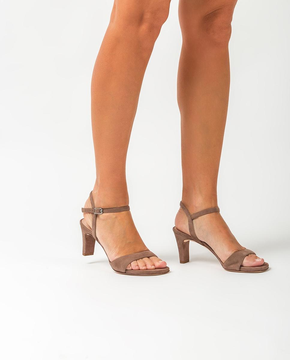 UNISA Sandale talon moyen daim MECHI_KS funghi 3