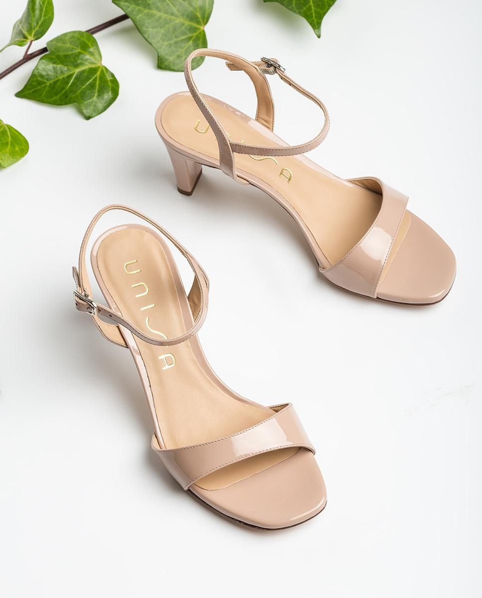UNISA Sandale talon moyen nude MECHI_PA dusty 3