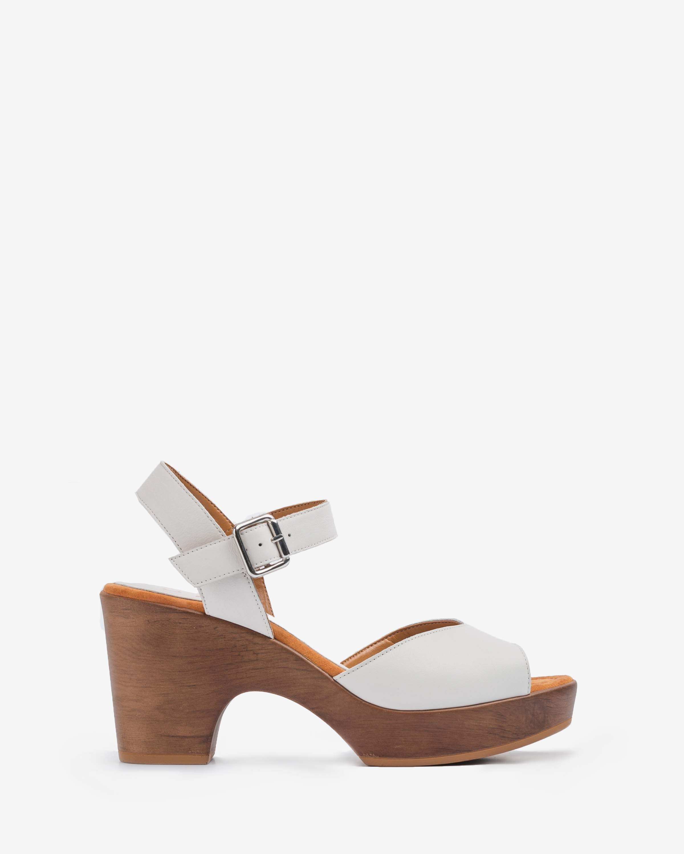 UNISA Sandale cuir blanche OTTIS_STY ivory 3