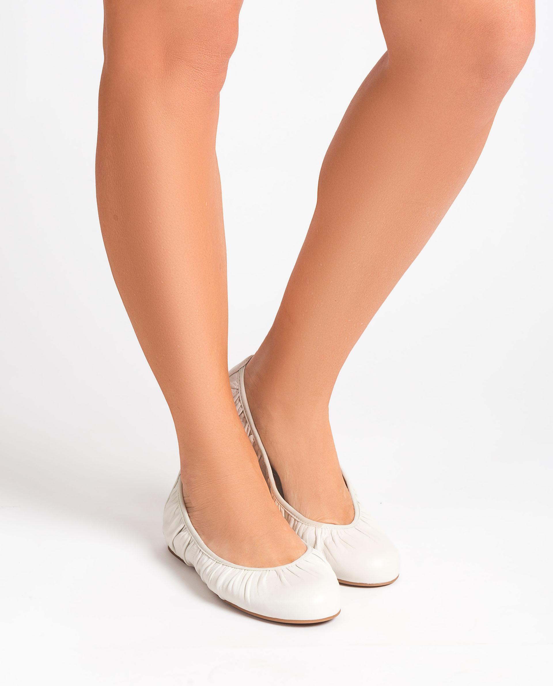 UNISA Ballerine simple en cuir  ABELLA_NS 3