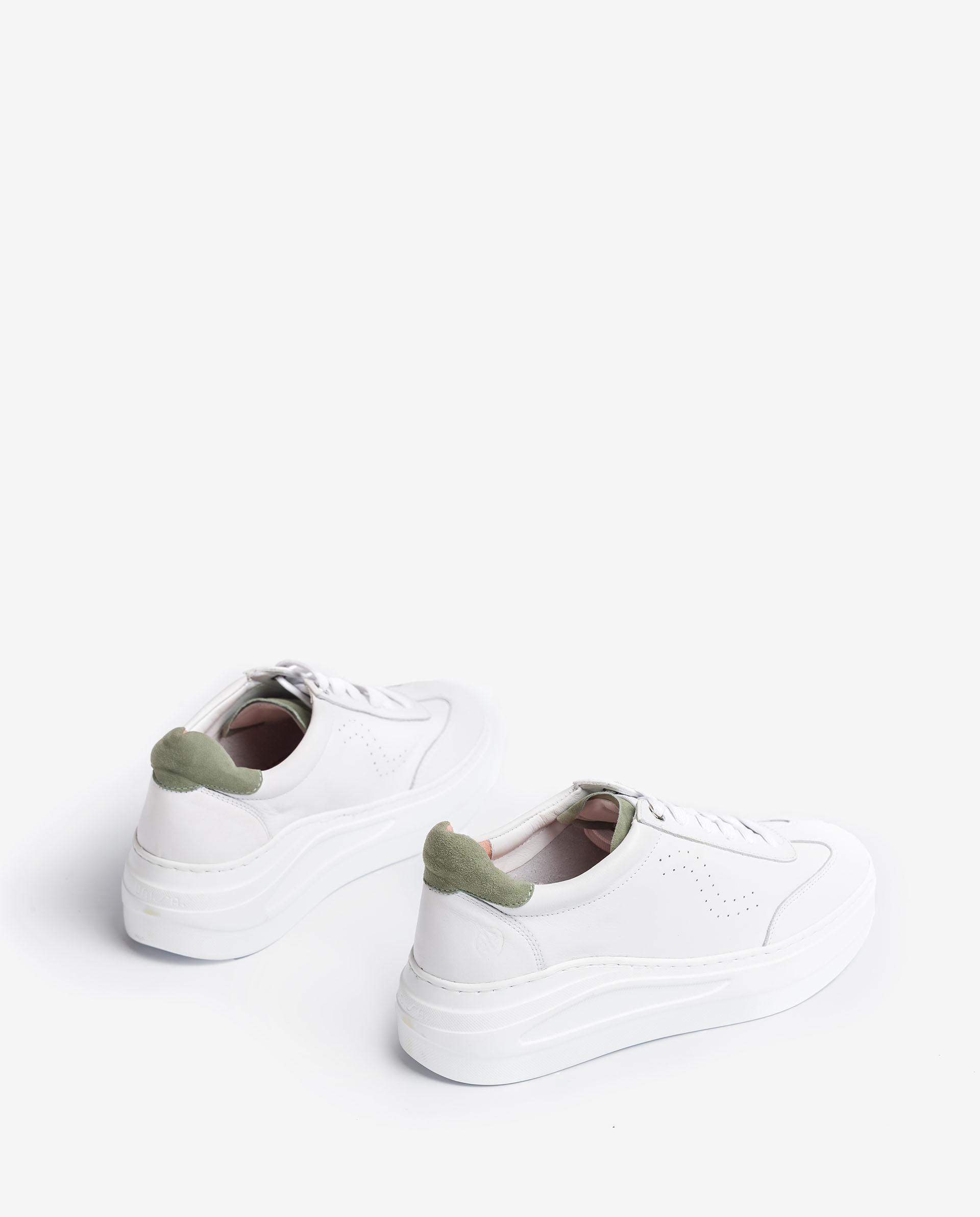 UNISA Chaussure de sport en cuir et daim avec plateforme  FARIZA_NF_KS 3