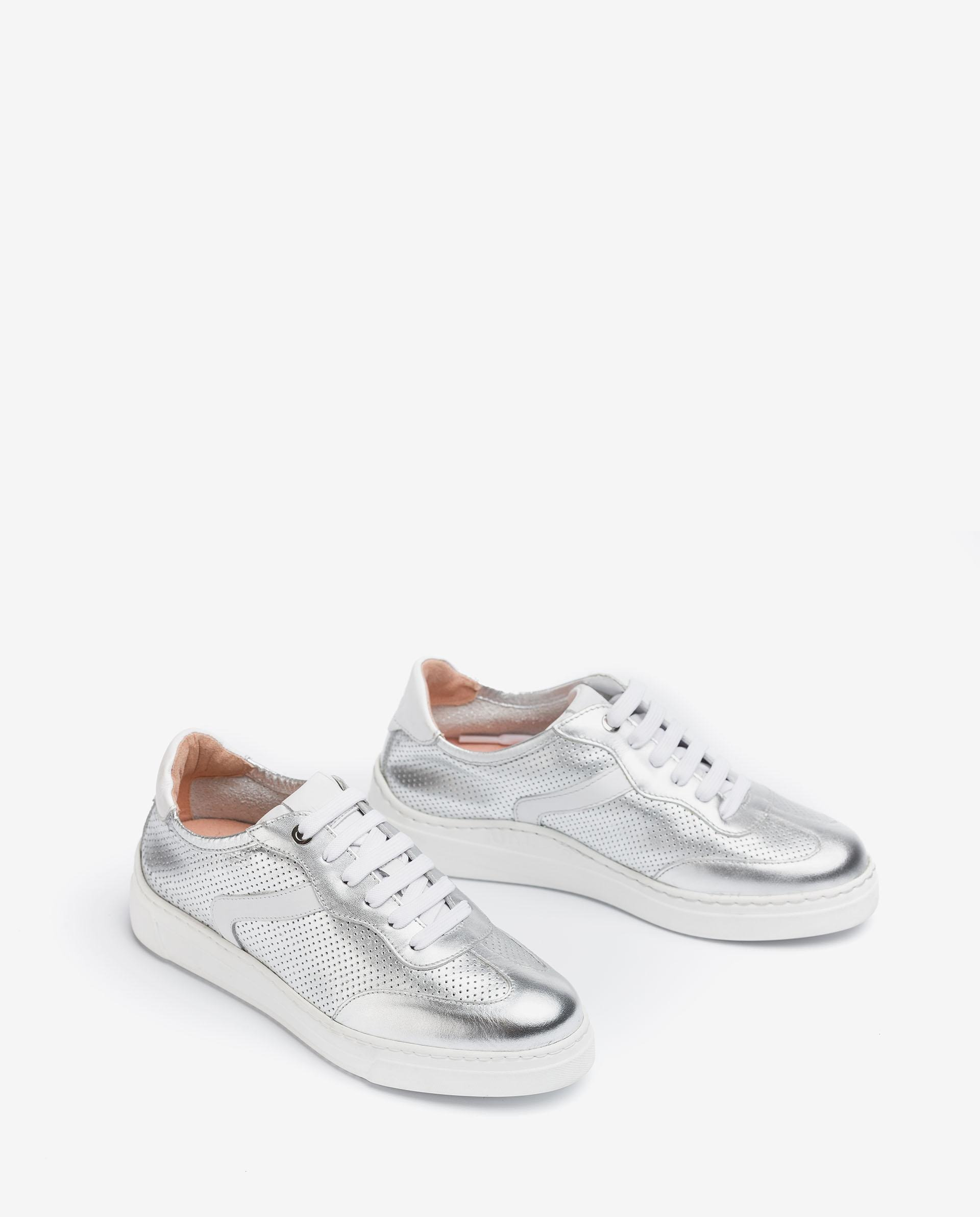 Unisa Chaussures de sport FUAD_NF SILVER/WHI