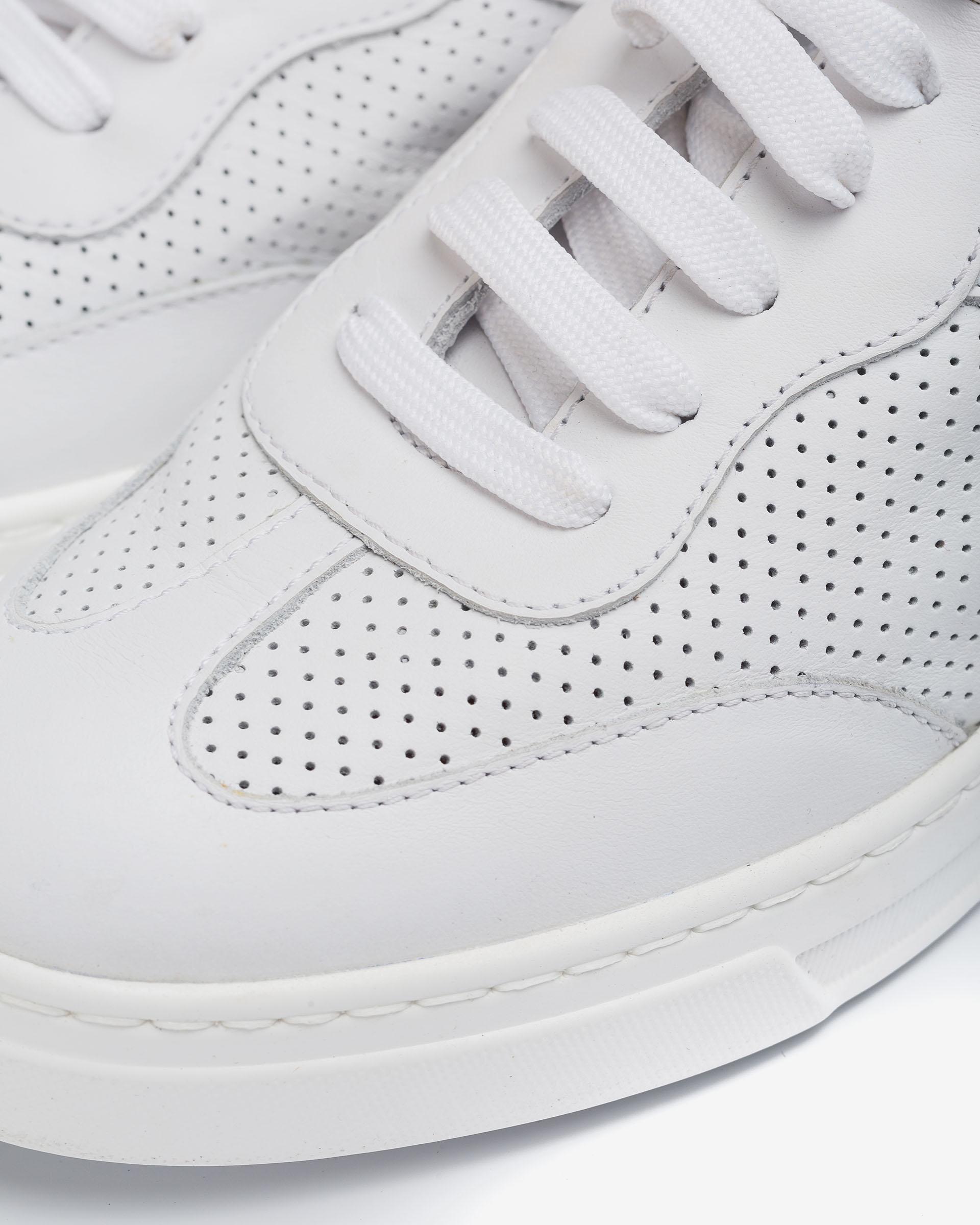 UNISA Chaussure de sport en cuir avec surpiqûre décorative  FUAD_NF 3