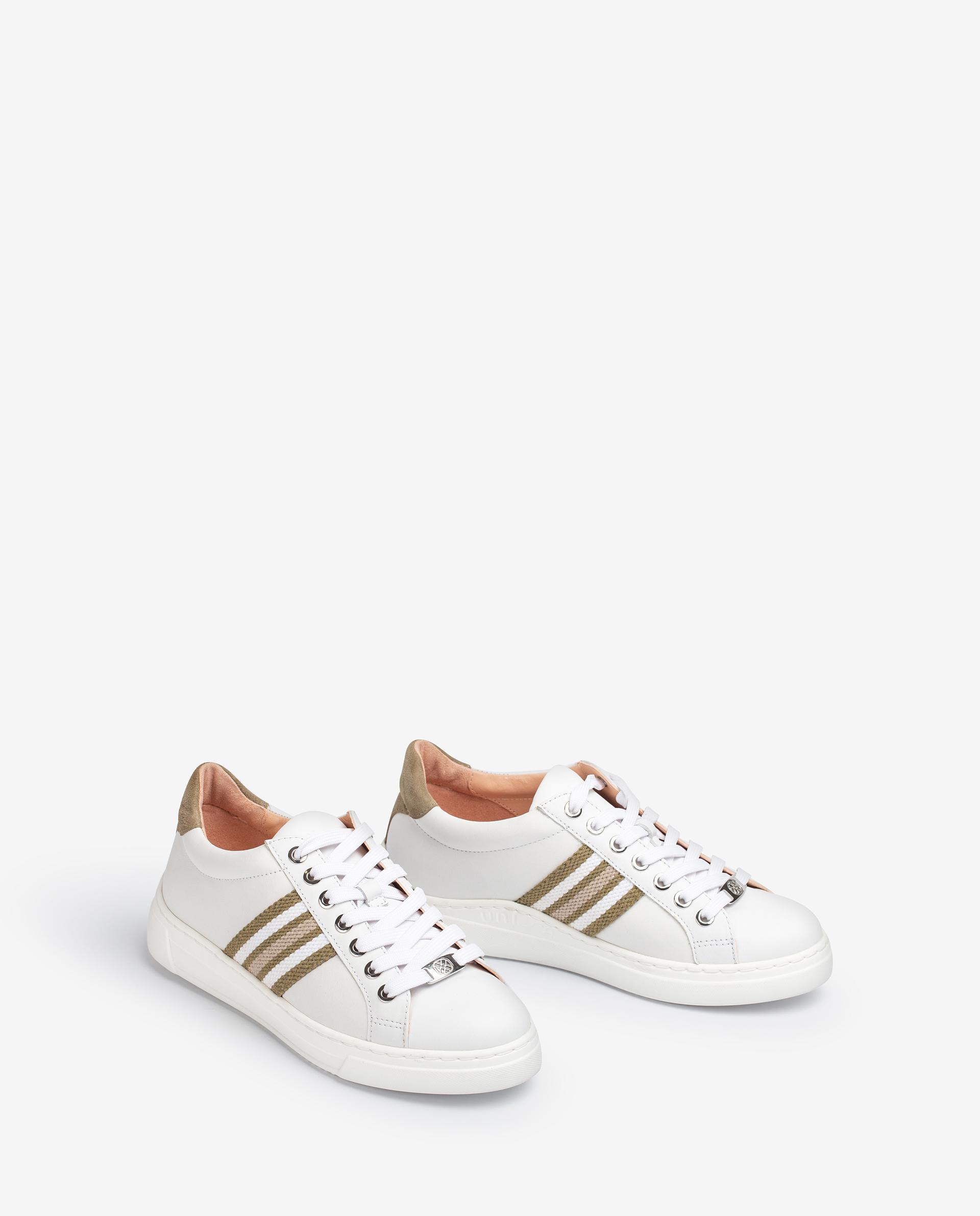 Unisa Chaussures de sport FAROLA_21_NF WHTE/LAURO