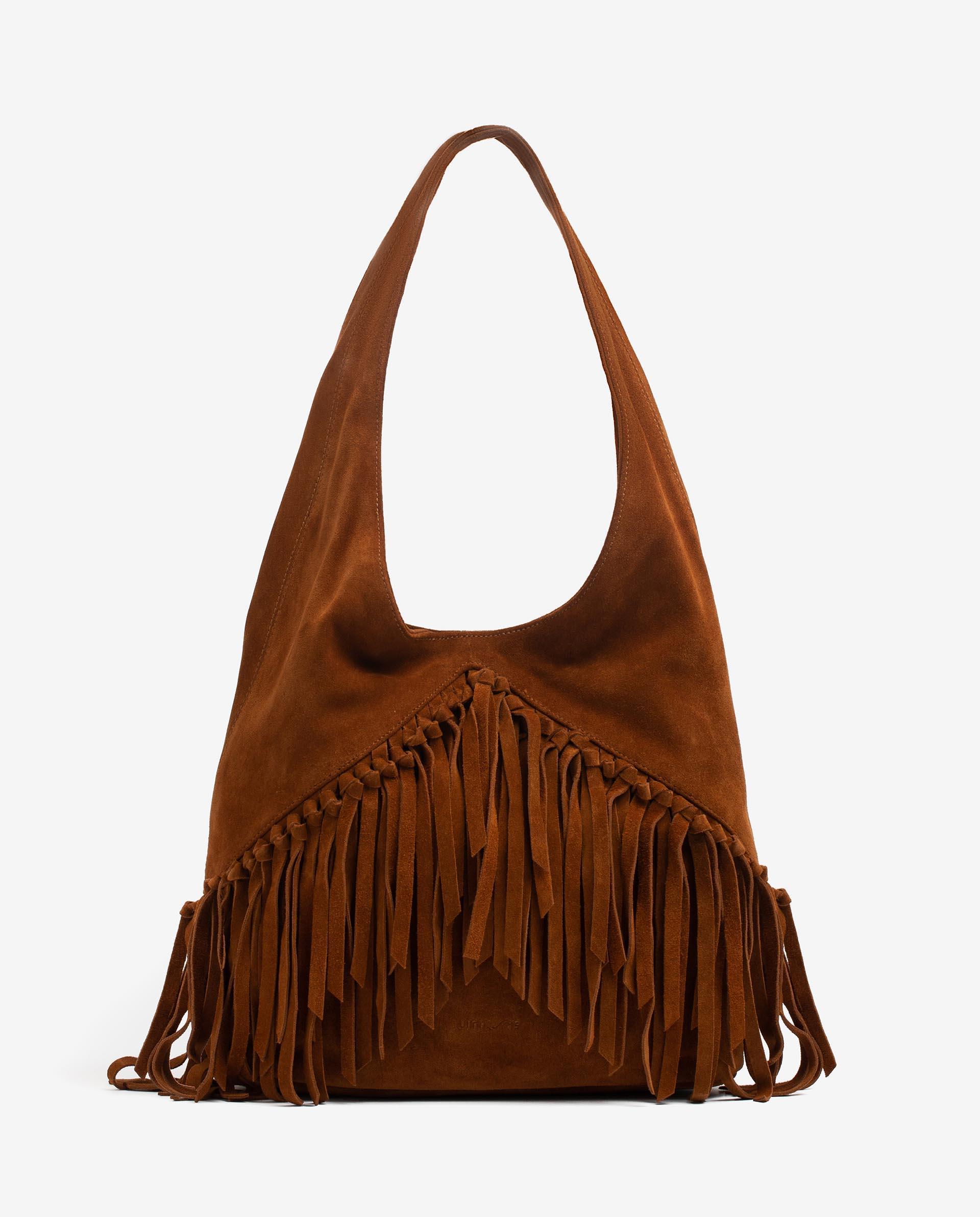 UNISA Sac shopper avec franges  ZISAURA_BS 3