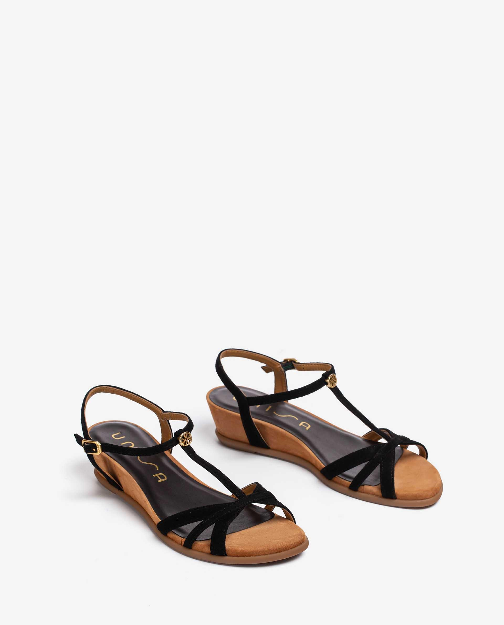 Unisa Sandalias BINAR_21_KS black
