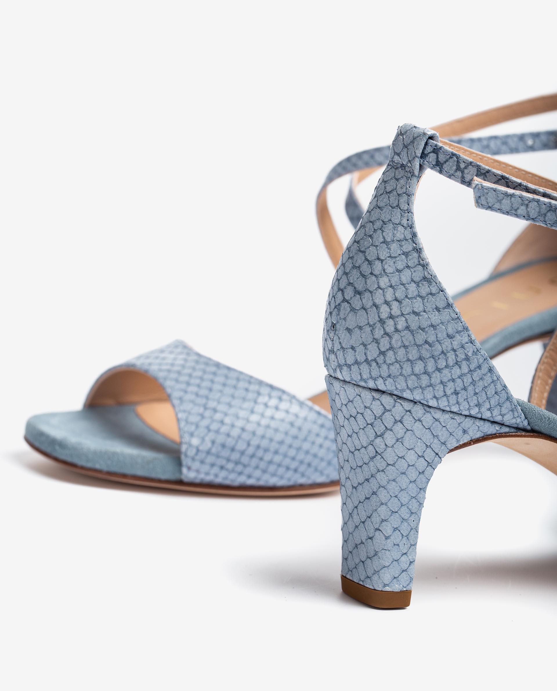 UNISA Sandalen met slangenprint MOPU_NEF 4