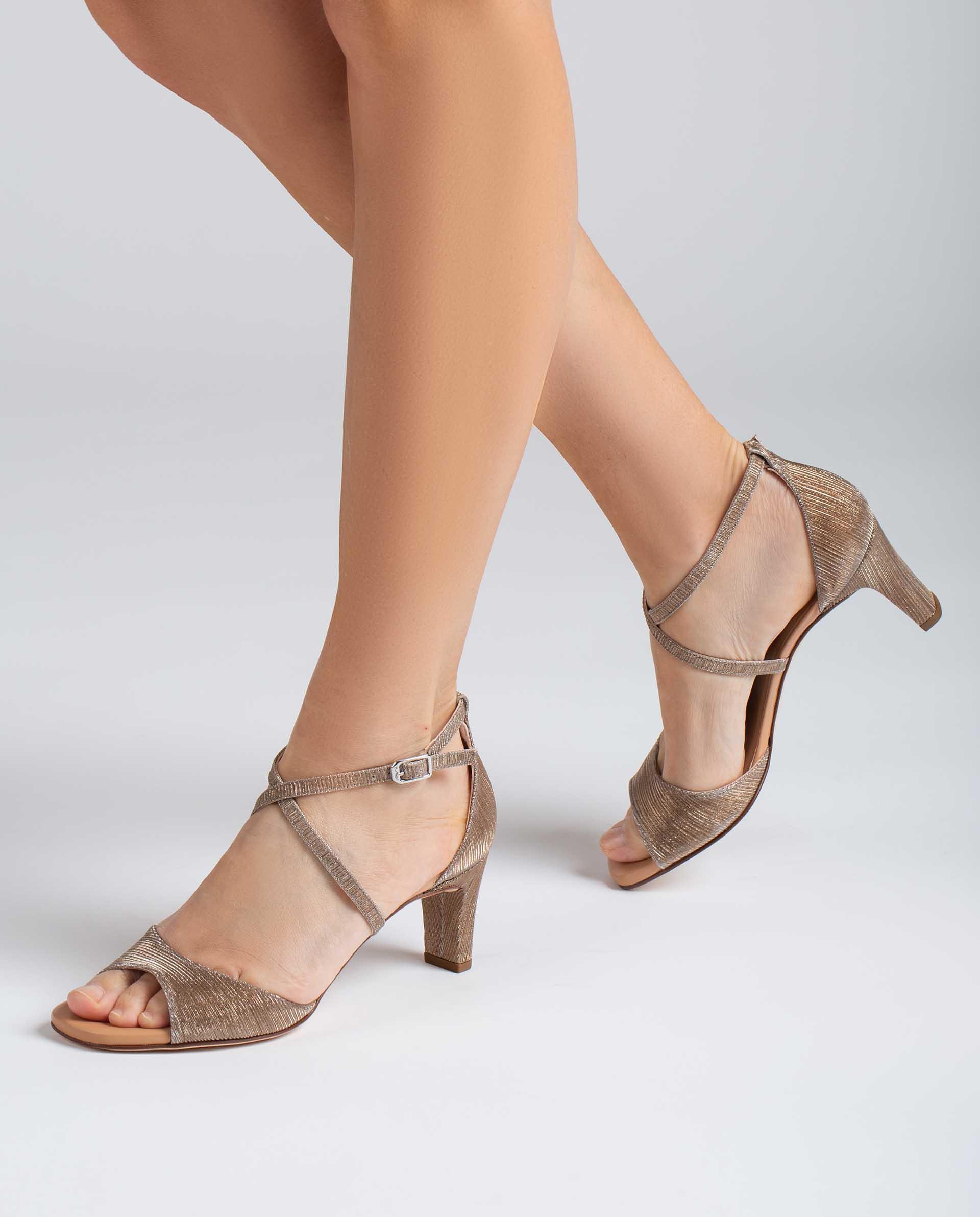 UNISA Sandalen met glanseffect MOPU_RAD 4