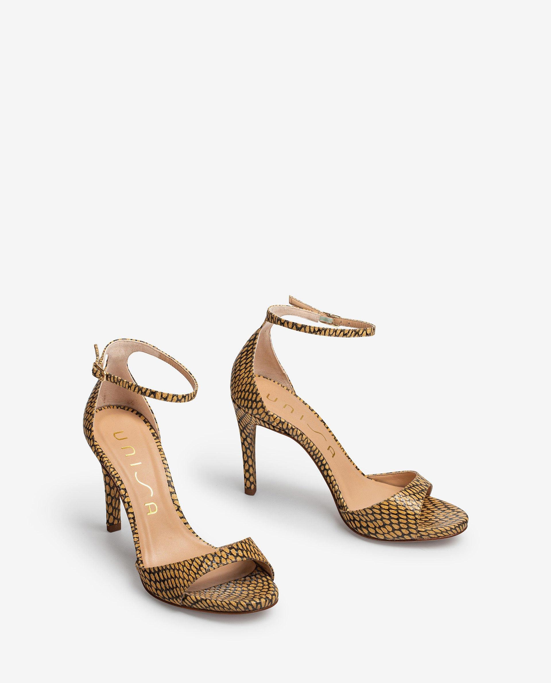 UNISA Sandalen met slangenprint YAGUE_MA 4