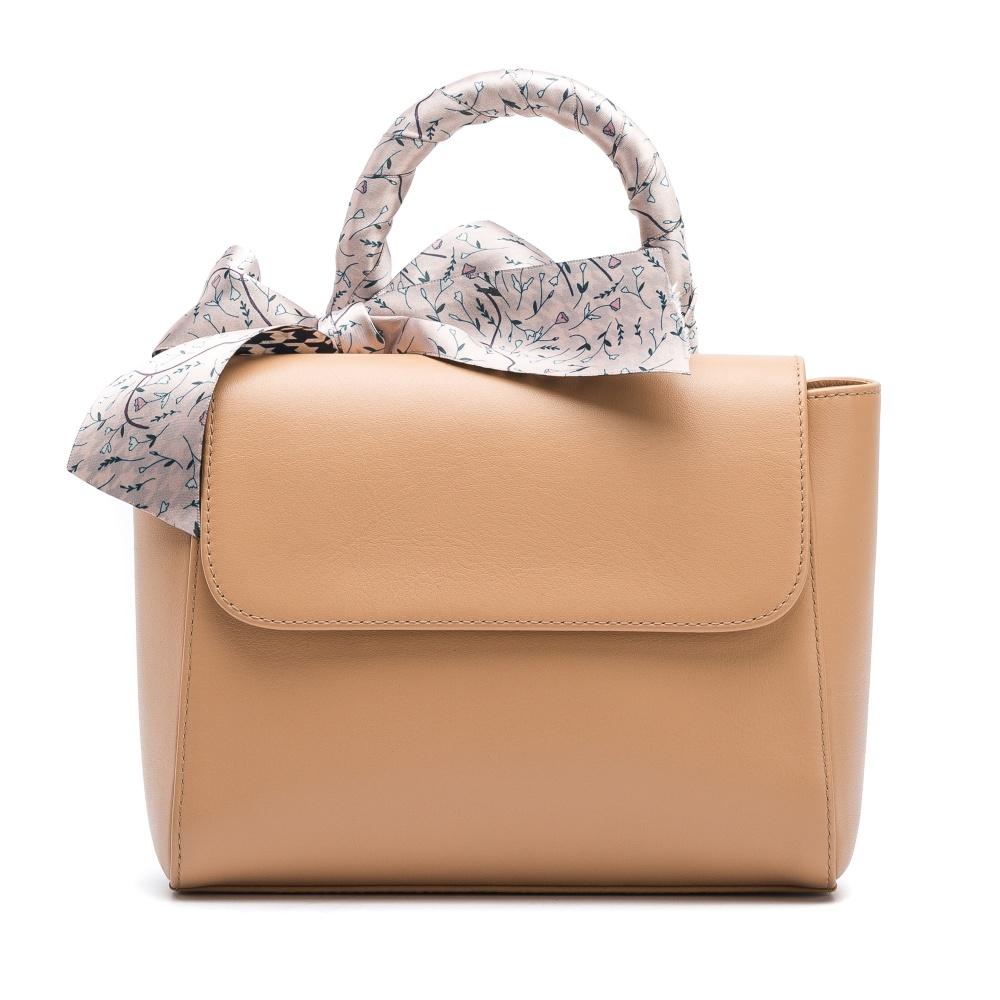 afca99e4ae Handbag nude with bow