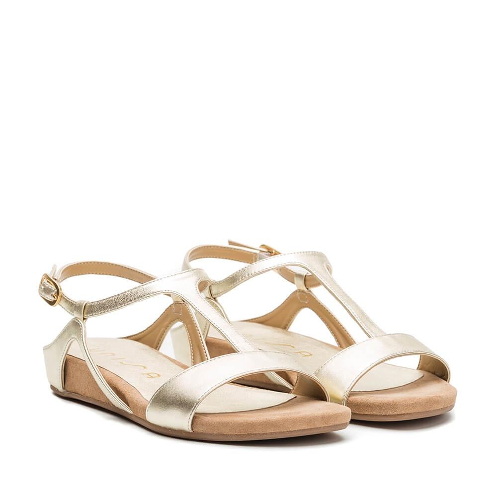 c59d3bf0d889 UNISA ALACE LMT - Unisa Alace Lmt platinum sandals