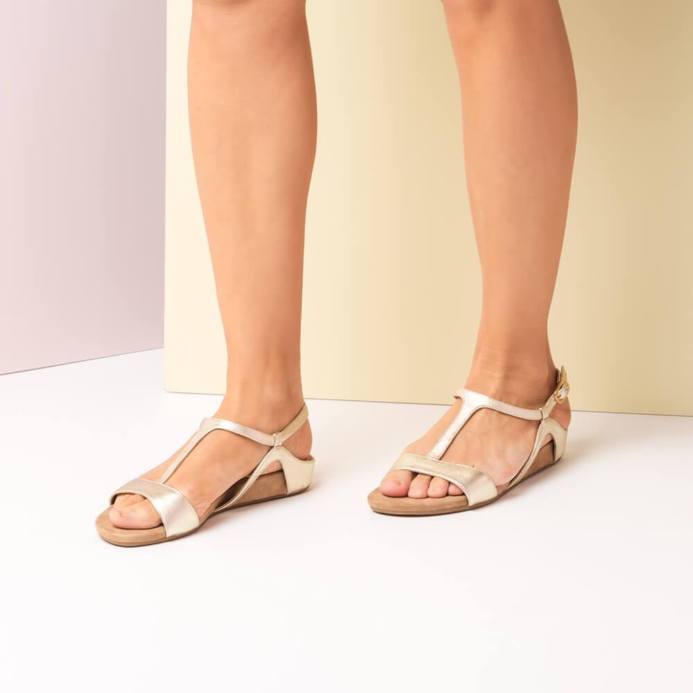 Alace Leather Lmt Unisa Strap lmt Platinum Sandals Alace pf8wndqwB