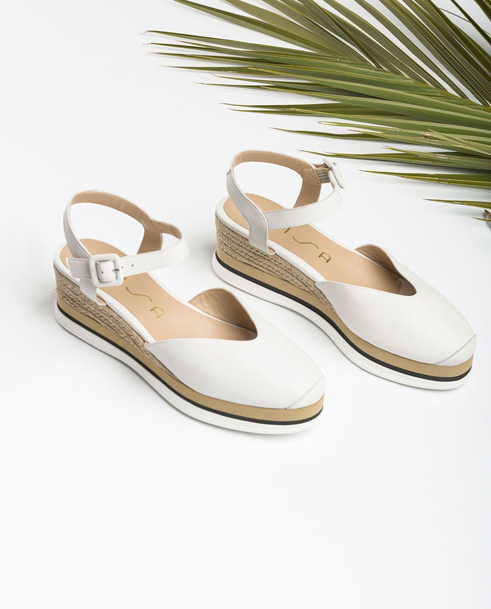 Sport sole white espadrilles JUANA_STY