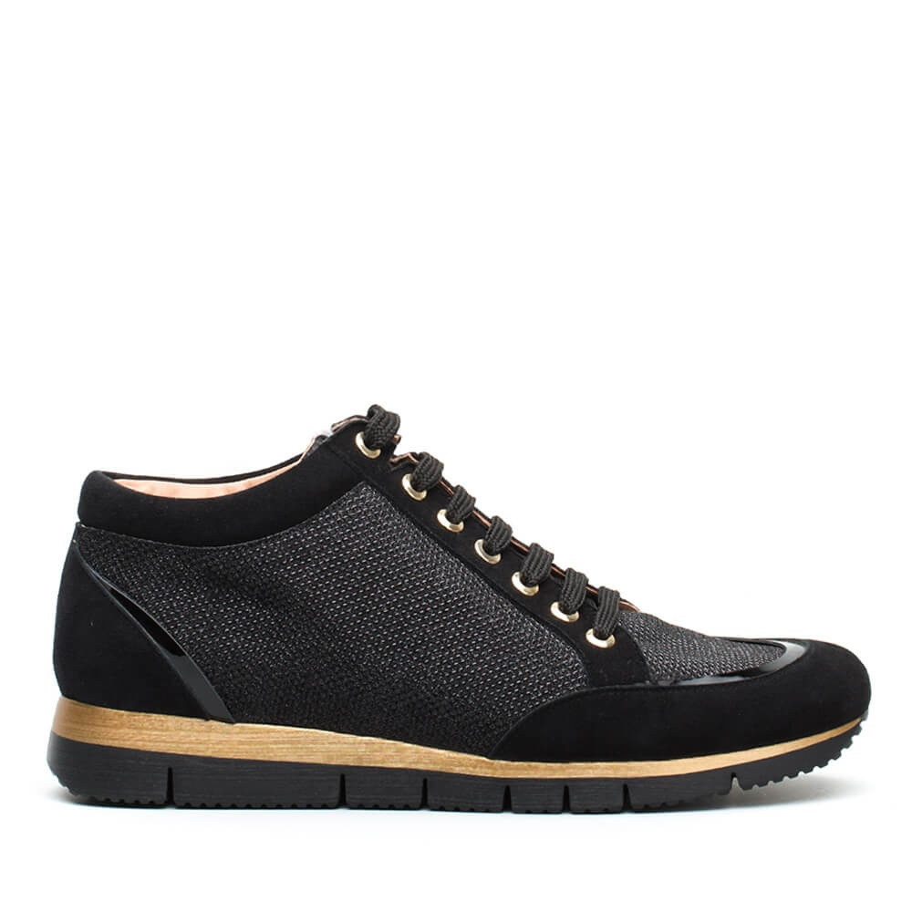 UNISA BARDAY_EV_KS Leather sneakers, combined, woman