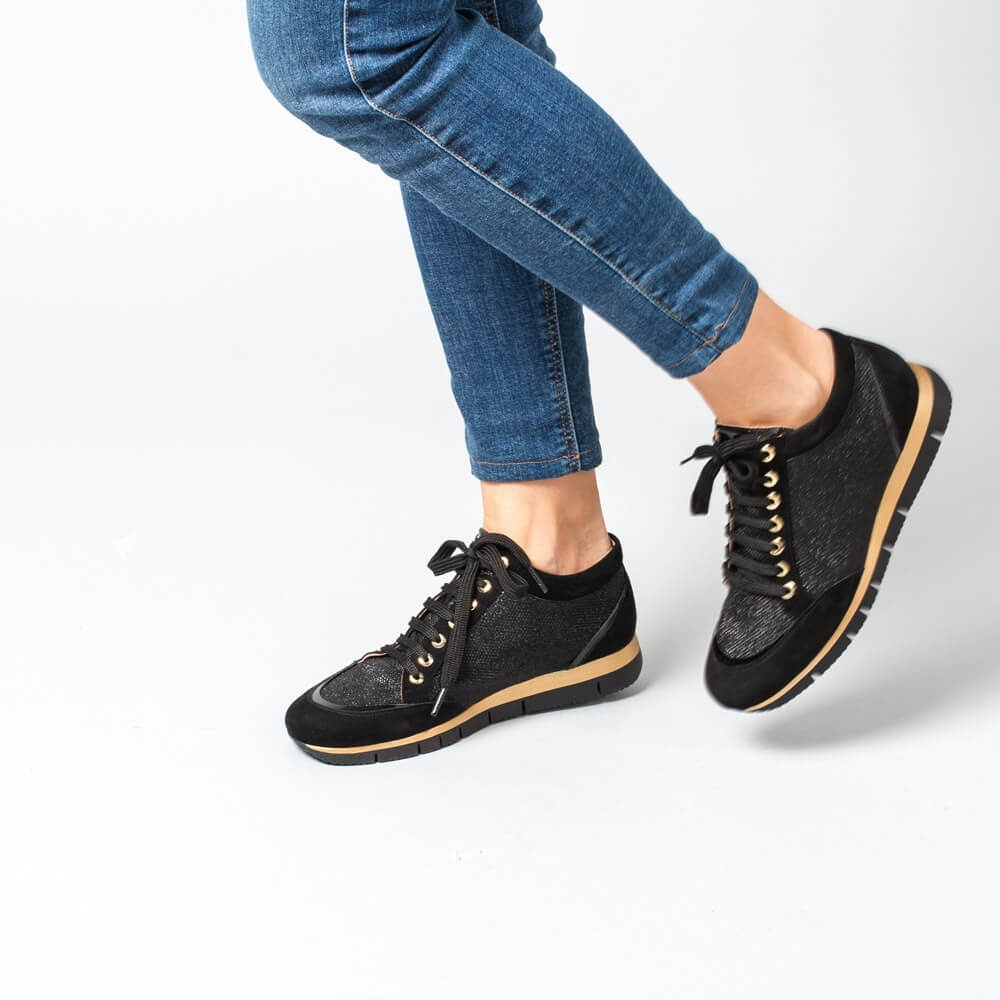 quality design 65d3a 90bc6 UNISA BARDAY_EV_KS - Sneakers aus Leder, kombiniert, Damen ...