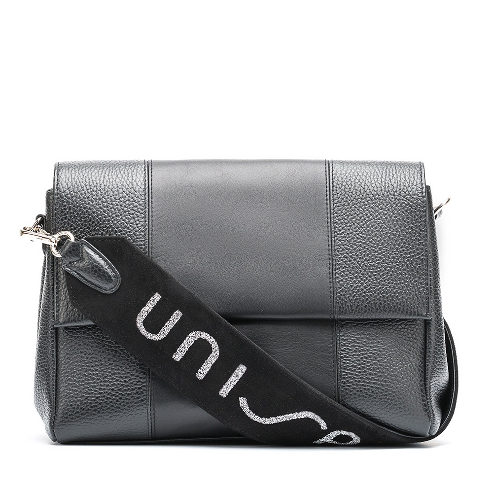 UNISA Unisa handle handbag ZLOTO.UNISA_MM black 2