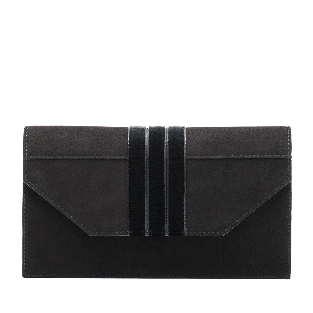 UNISA Kid suede handbag ZBRETO_KS black 2