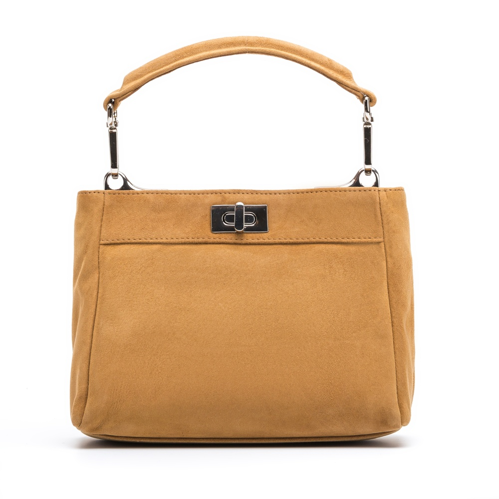 UNISA Mini bag short handle ZDUMA_KS cobnut 2