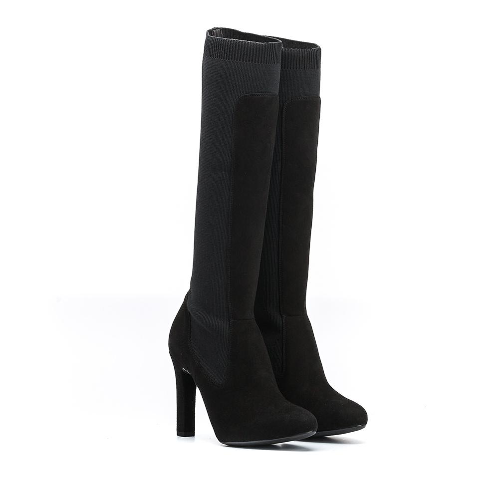 Hohe Mit Boots Absatz Hohe Sock nkP0X8wZNO