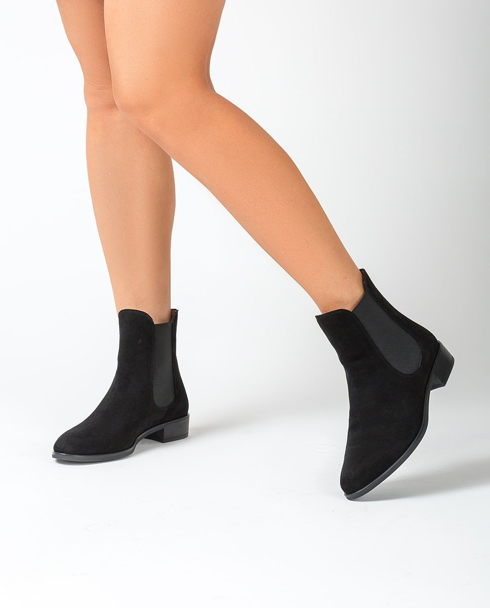 Kid suede Chelsea ankle boots BOYER_BS