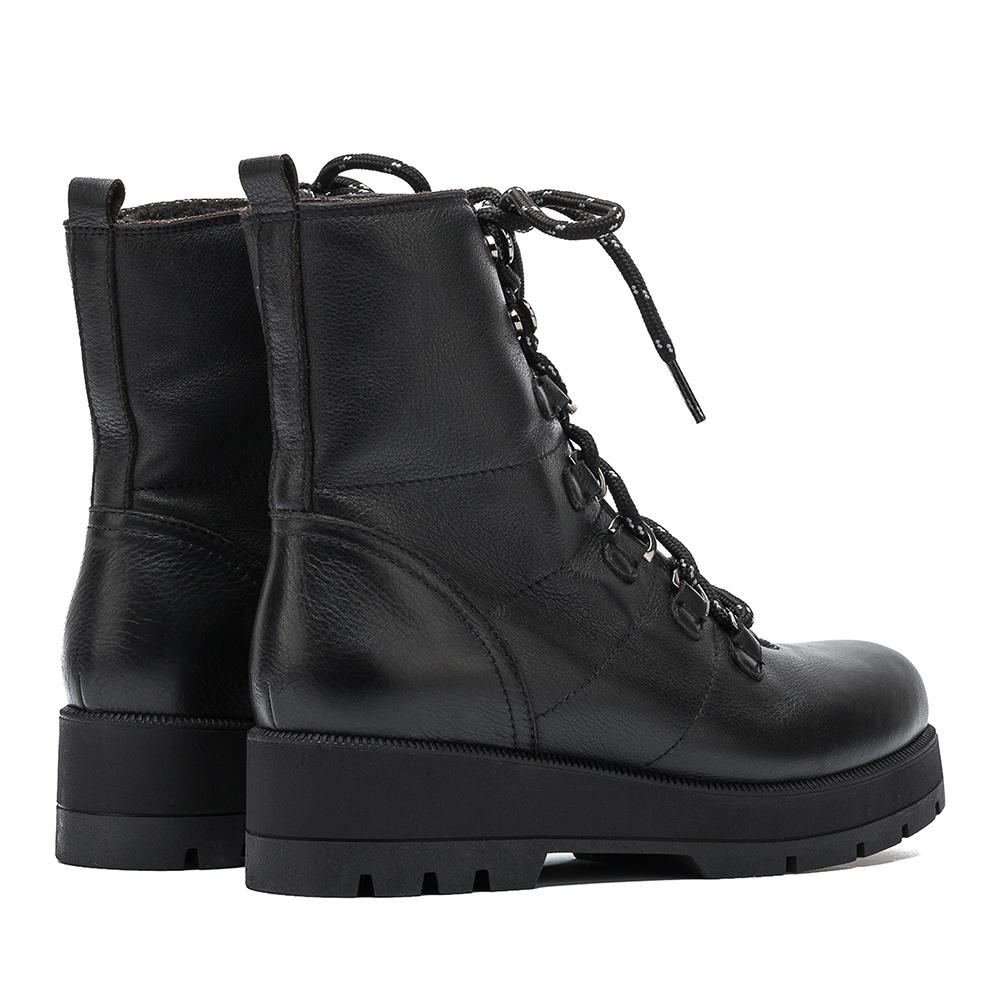 Black hiking booties FRODO_GLO | Unisa
