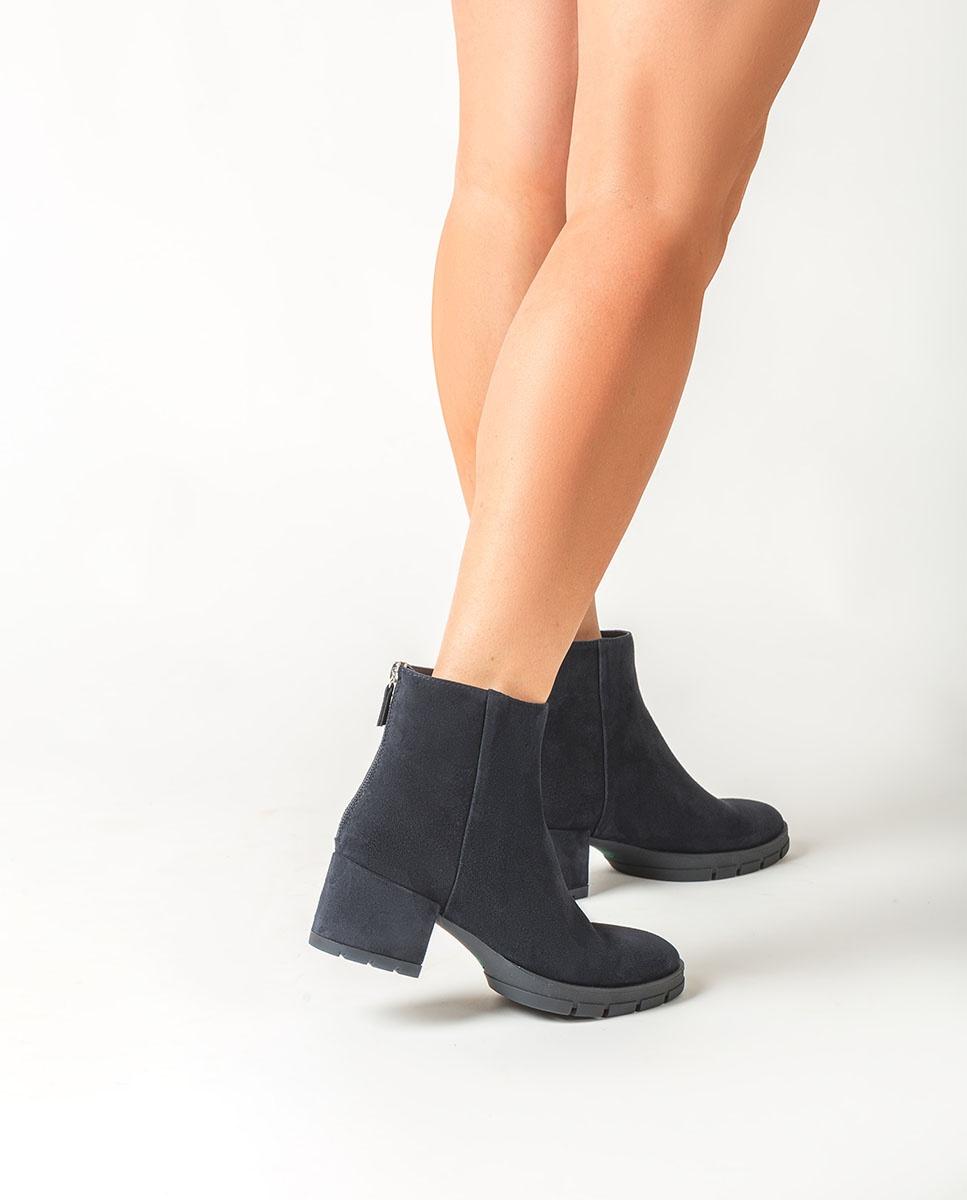 Kid suede ankle boots JAICO_KS   Unisa