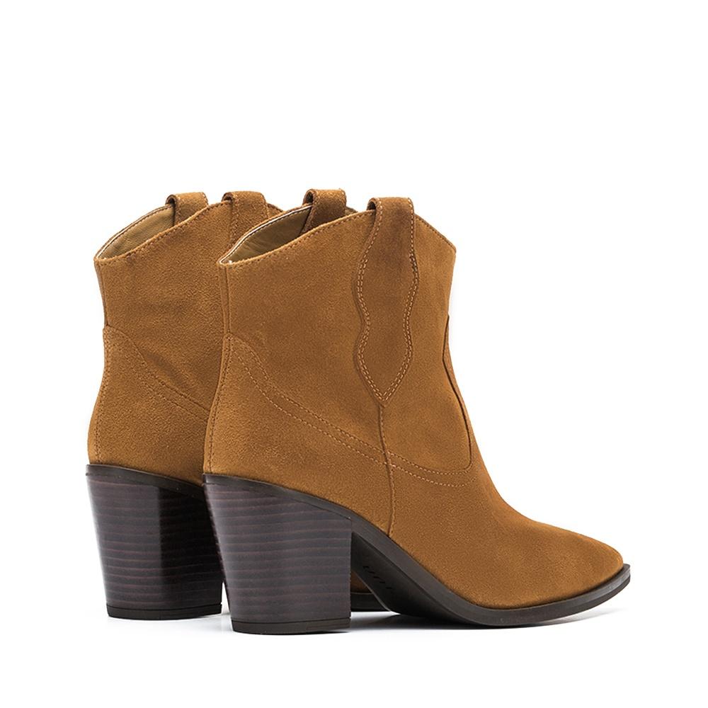 gamme exceptionnelle de styles et de couleurs en stock profiter du prix le plus bas Bottine Cowboy en daim marron