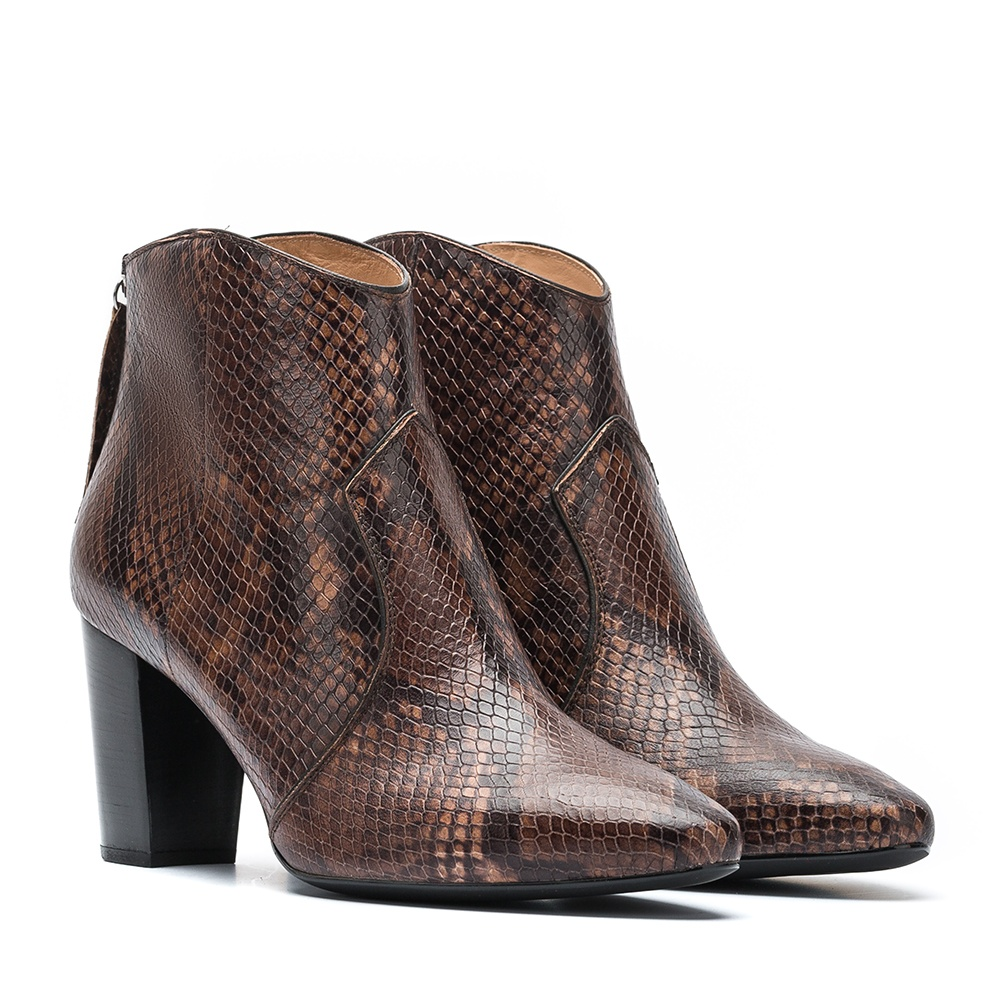 Snake print booties ELORA_VP | Unisa Official