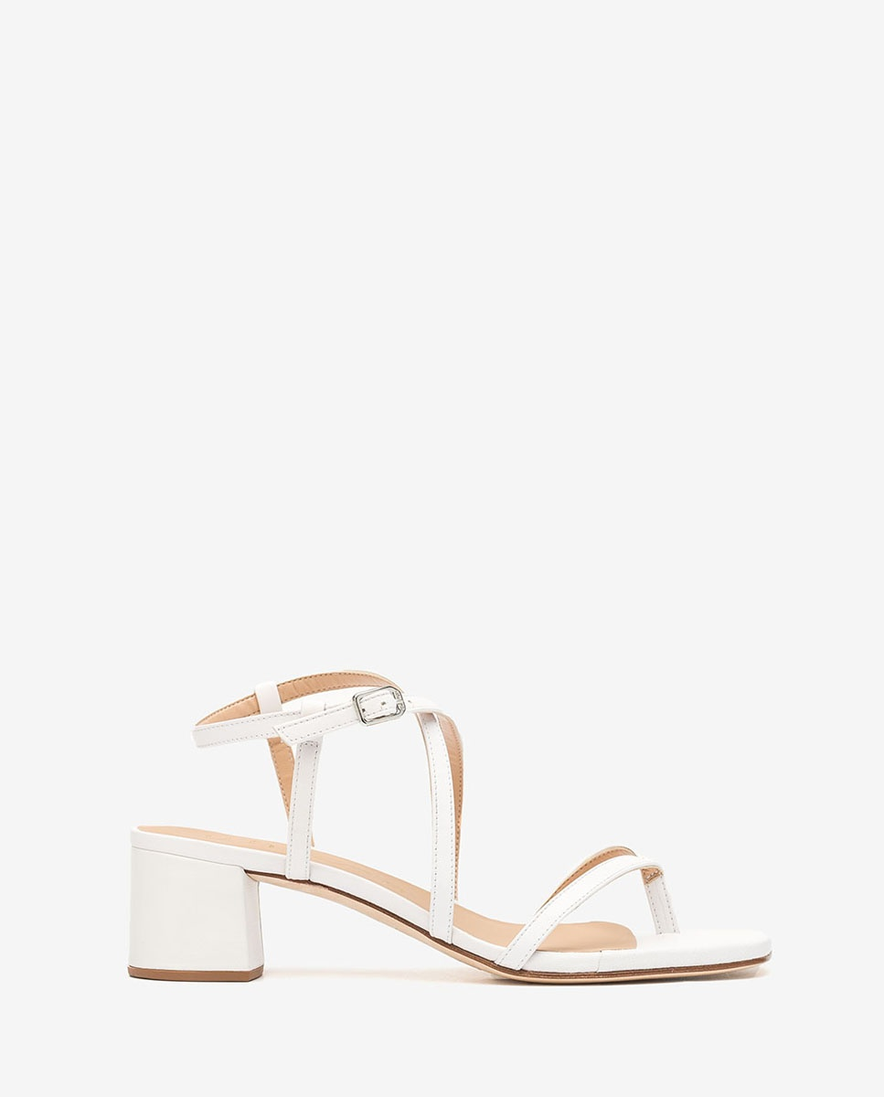 White straps sandals KEKE_NA | Unisa® 2020