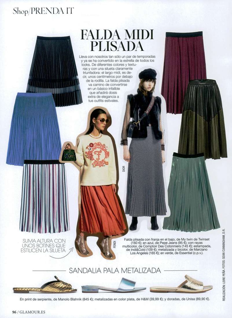 Otoño Moda Glamour España Agosto 2017Unisa BdxECoQreW