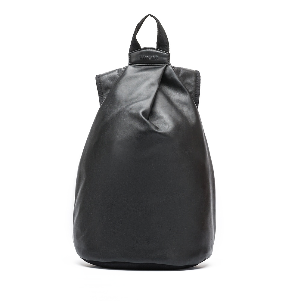 UNISA Black leather backpack ZMAISY_NT_NEO black 2