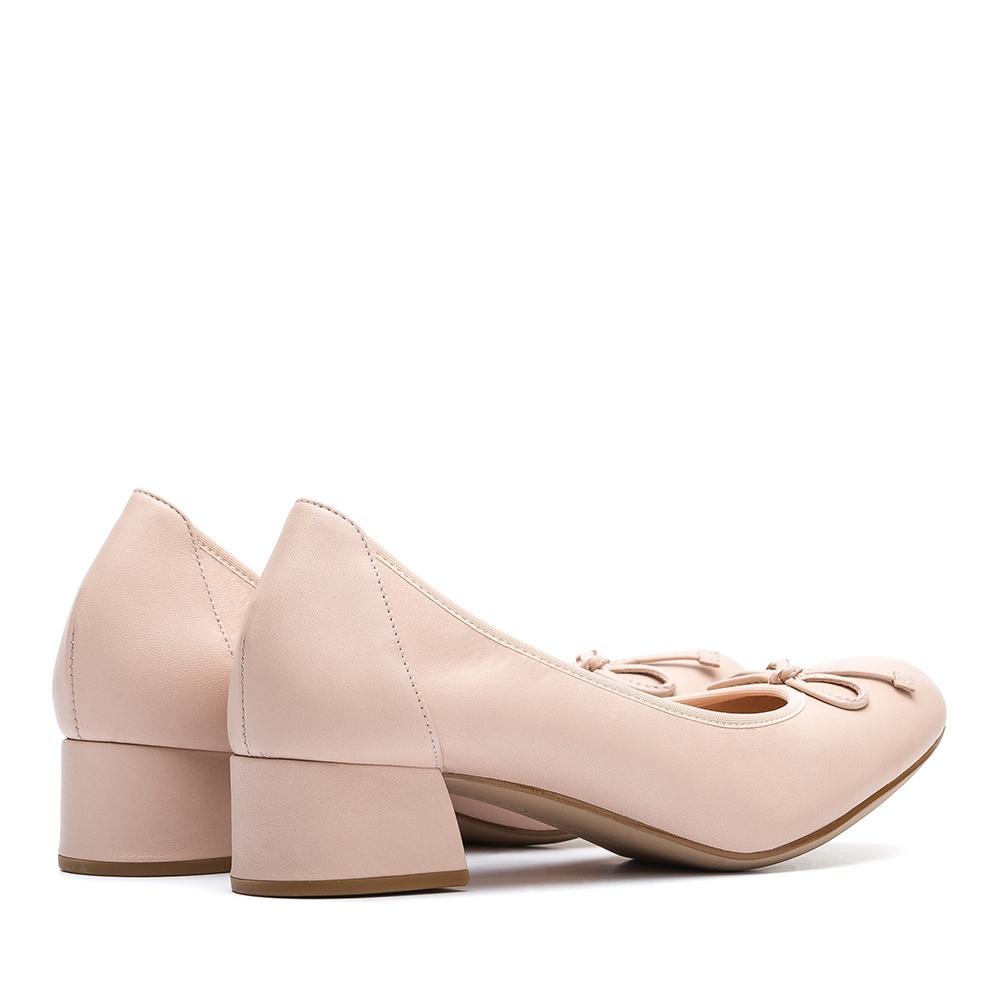 newest 08164 37bd0 Ballerina rosa Absatz
