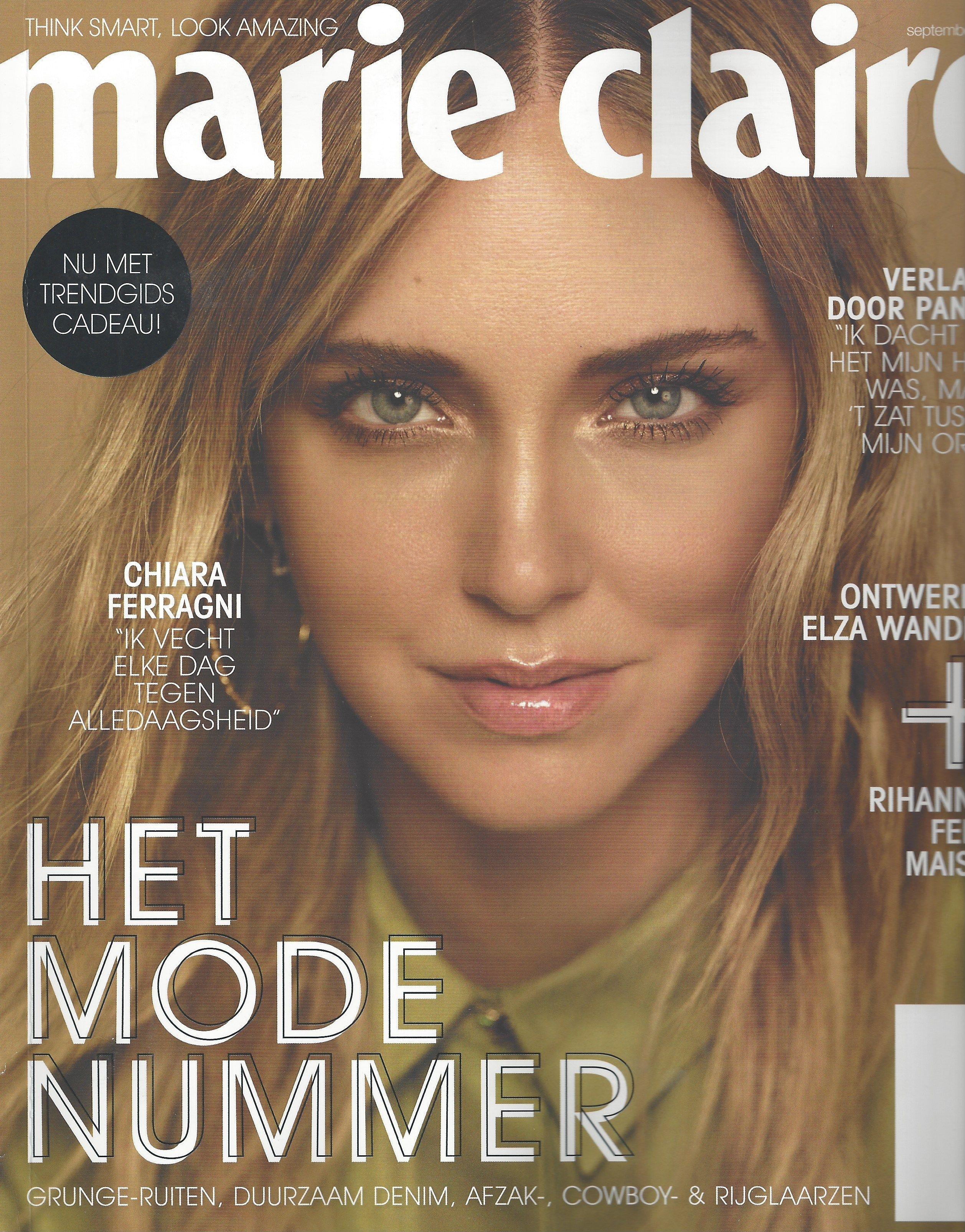 Marie Claire Netherlands 2019