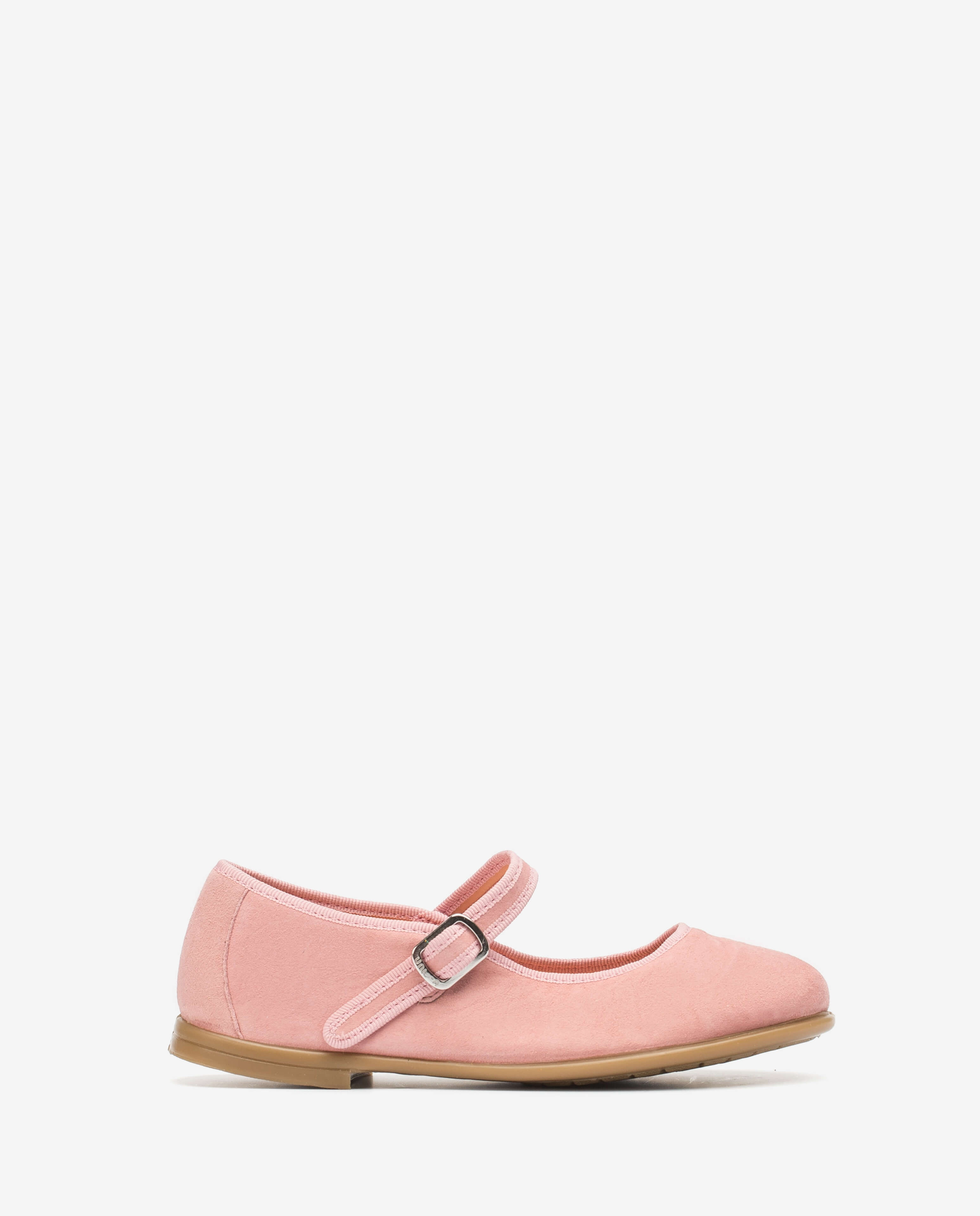 Little girl pink Mary Jane shoes