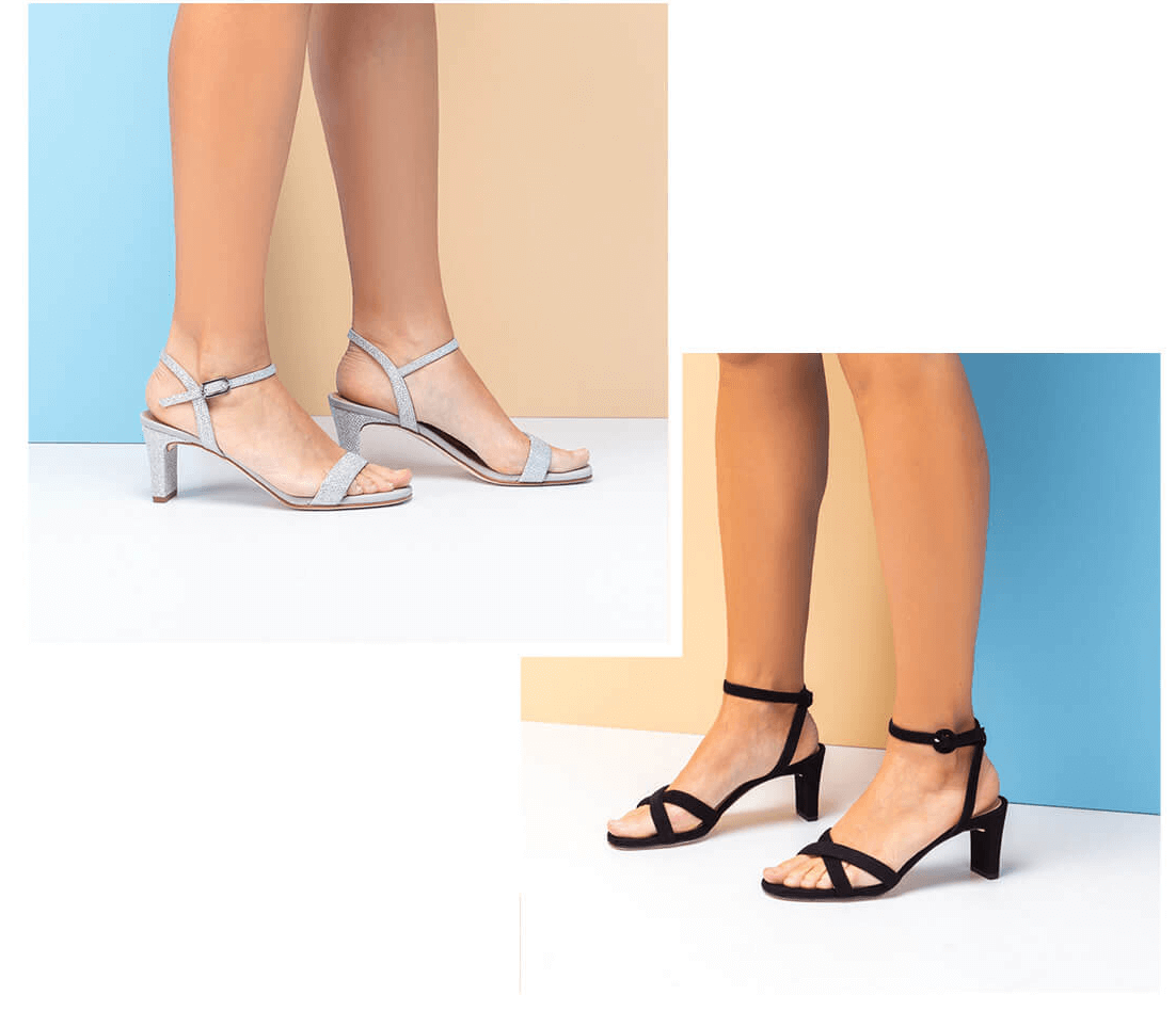 Floss Heels / Naked Sandals / Strappy Sandals