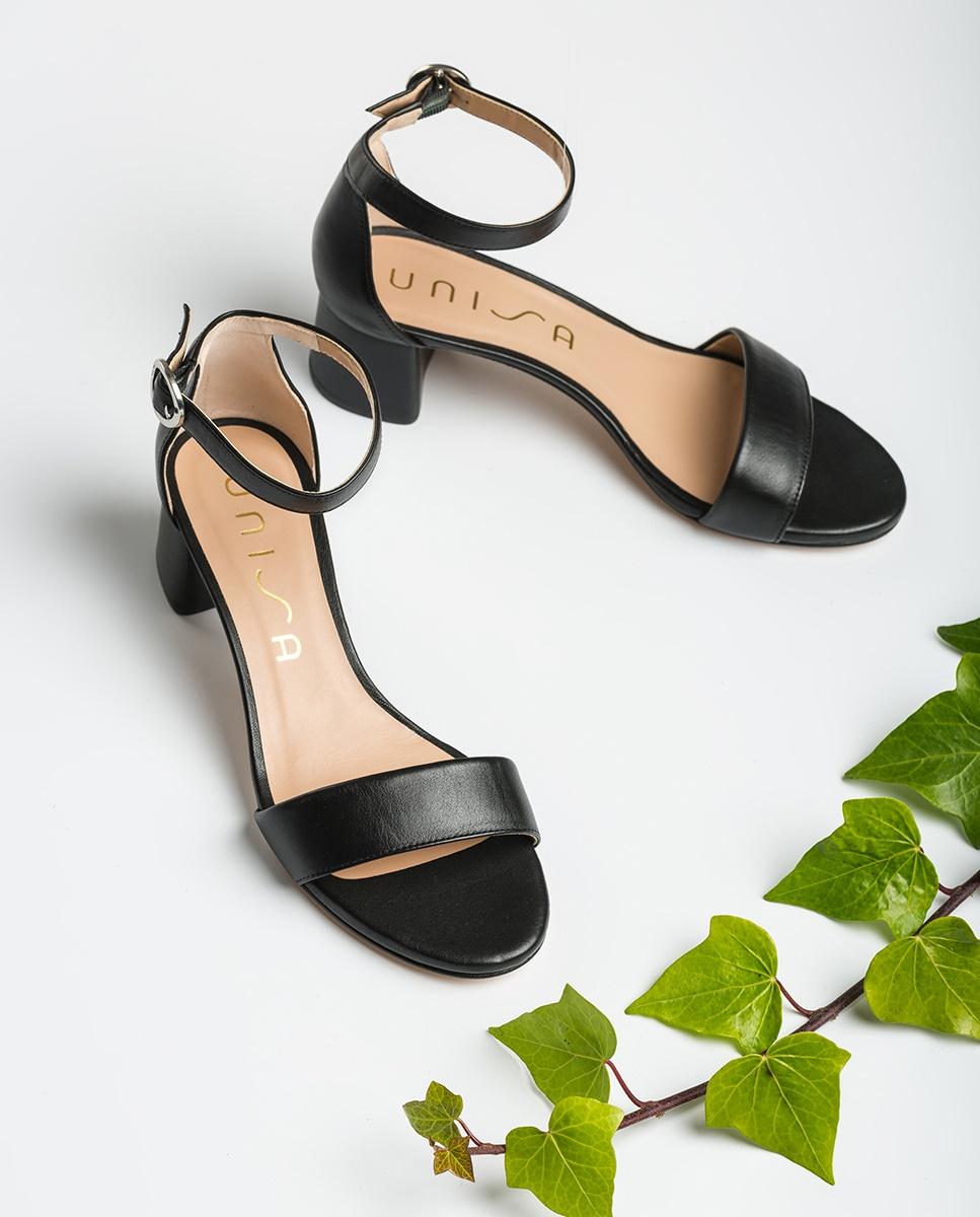 Black sandals medium heel GELETE_NS | Unisa® 2020 IpZGt