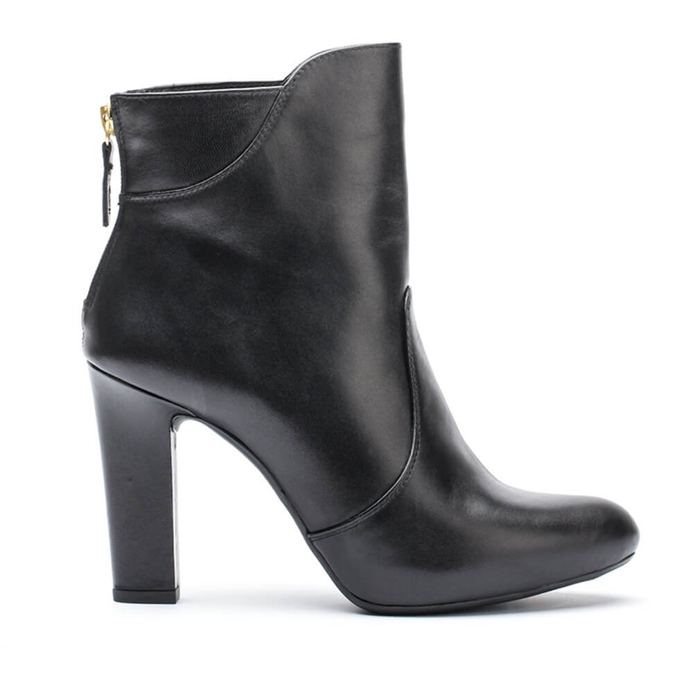 UNISA PRISCO_NA - Unisa Prisco Na, Heeled leather booties