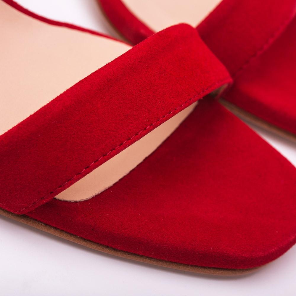 d7998d51e3d UNISA SAINO KS - Red high heel sandal Unisa Saino Ss18