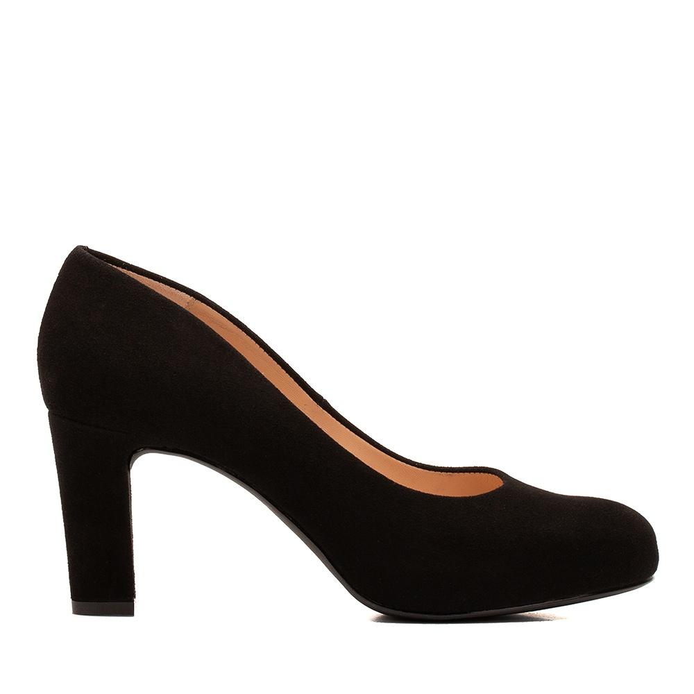 Numis kid suede heeled shoes | Unisa pumps