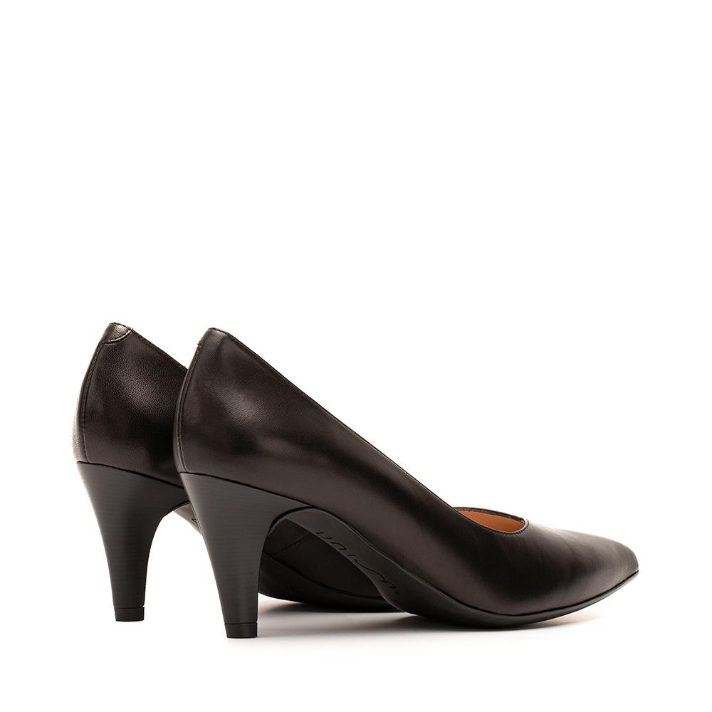 Unisa black leather pumps | Keala pumps