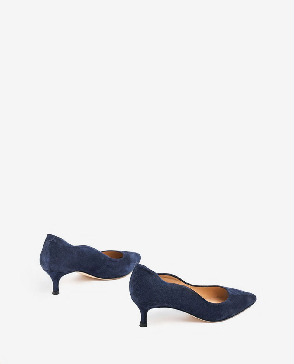 Navy blue heel pumps IDONE_KS | Unisa® 2020