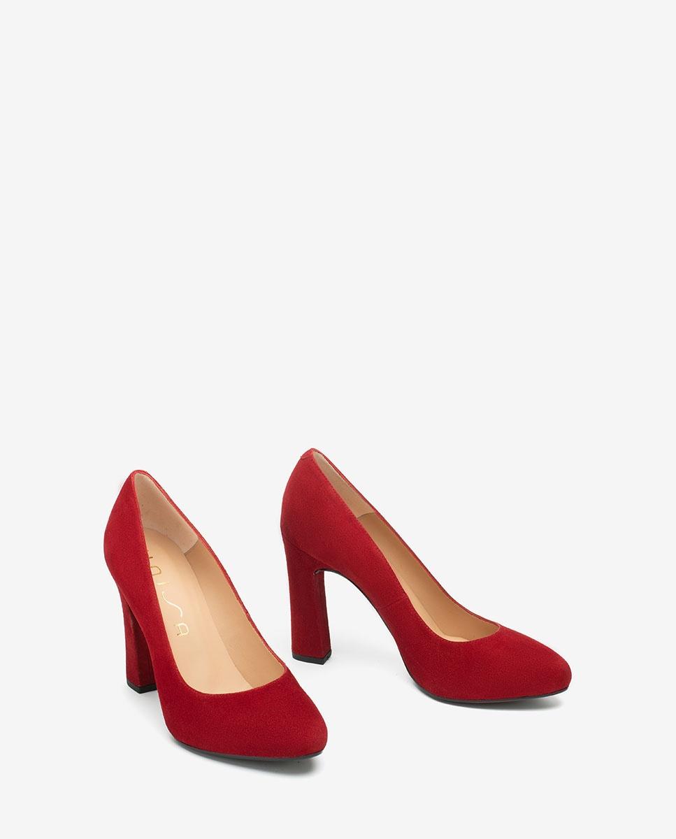 High heel kid suede pumps PATRIC_F20_KS