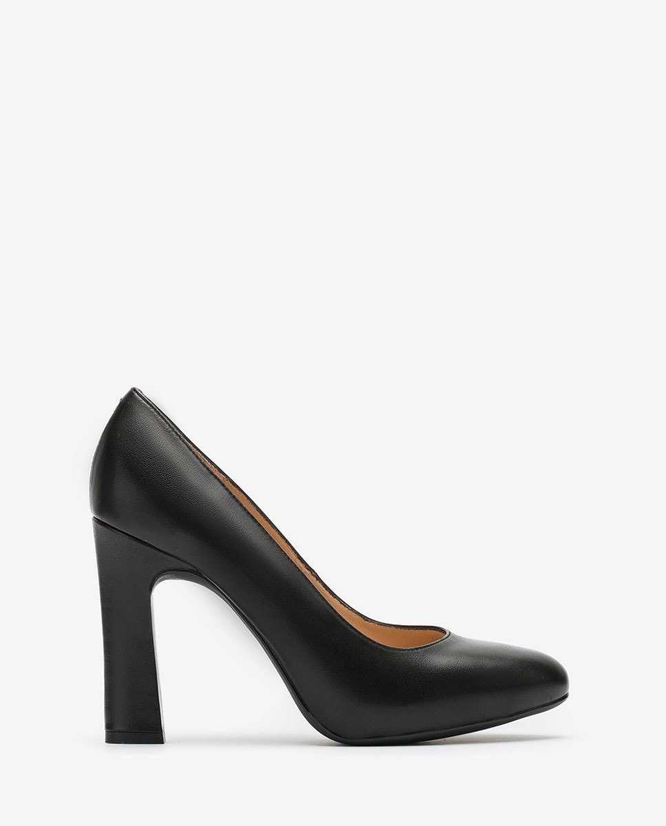 UNISA Black high heel pumps PATRIC_F20_NA black 2