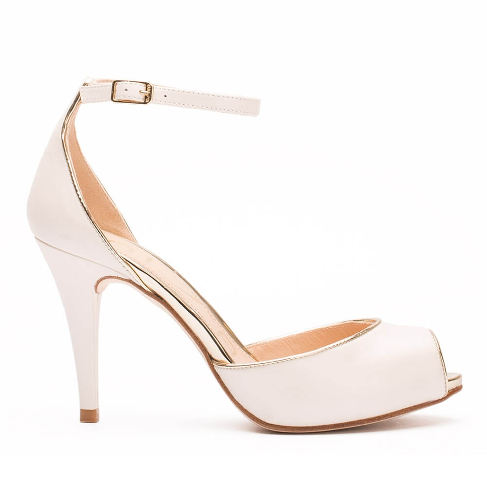 Unisa Kibut_my_n, Zapatos de Boda para Mujer, Blanco (Nacar), 35 EU