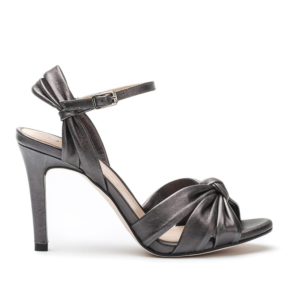 unisa welton lmt metallic knot heel sandal welton unisa winter