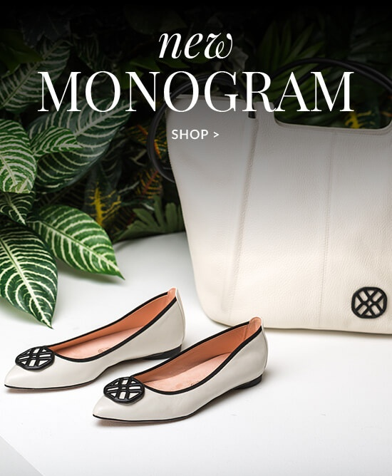 Monogrammed Shoes and Bags